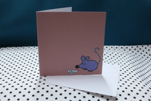 Load image into Gallery viewer, 'Bubble Mouse' Greeting Card