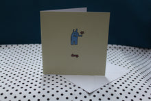 Load image into Gallery viewer, 'Sorry Bunny' Greeting Card