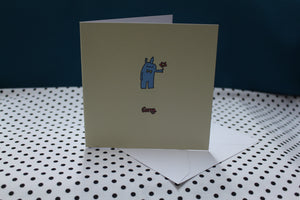 'Sorry Bunny' Greeting Card
