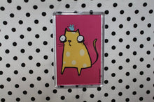 Load image into Gallery viewer, 'Cheese Cat' Fridge Magnet