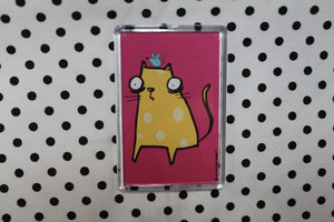 'Cheese Cat' Fridge Magnet