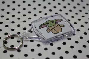 'The Little Sprout' Baby Alien Keyring