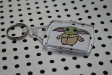 Load image into Gallery viewer, 'The Little Sprout' Baby Alien Keyring