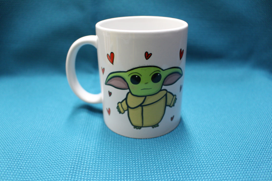 'The Little Sprout' Baby Alien Mug