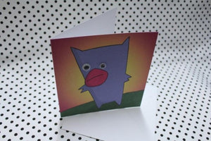 'Googly Duck' Greeting Card