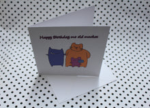 Load image into Gallery viewer, 'Mob Mates' Greeting Card