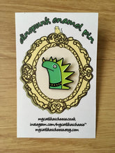 Load image into Gallery viewer, 'Dinopunk' Enamel Pin Badge