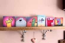 Load image into Gallery viewer, 'Hug Bug' Googly Greeting Card