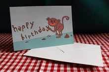 Load image into Gallery viewer, 'Monkey Mess' Greeting Card