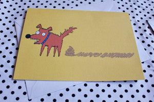 'Dog Doodle' Greeting Card