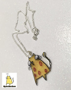 'Cheese Cat' Necklace