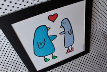Load image into Gallery viewer, 'Love Birds' Art Print Square