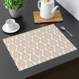 Teardrop Placemat in Coral