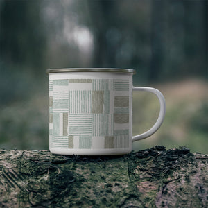 Block Pal Enamel Mug in Khaki