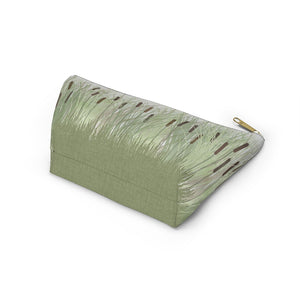 Marsh Accessory Pouch w T-bottom in Green