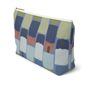 Popsicles Accessory Pouch w T-bottom in Navy