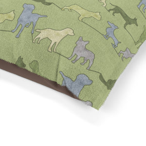 Dogs Pet Bed in Green