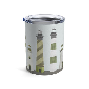Lighthouses Tumbler in Green