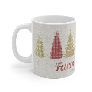 Farm Fresh Mug in Gold
