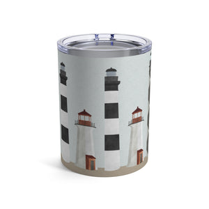 Lighthouses Tumbler in Red