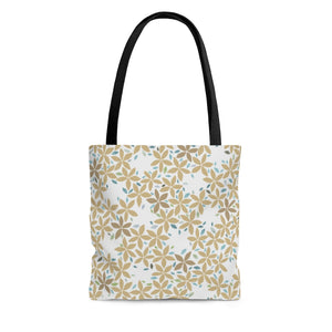 Snowbell Tote Bag in Gold
