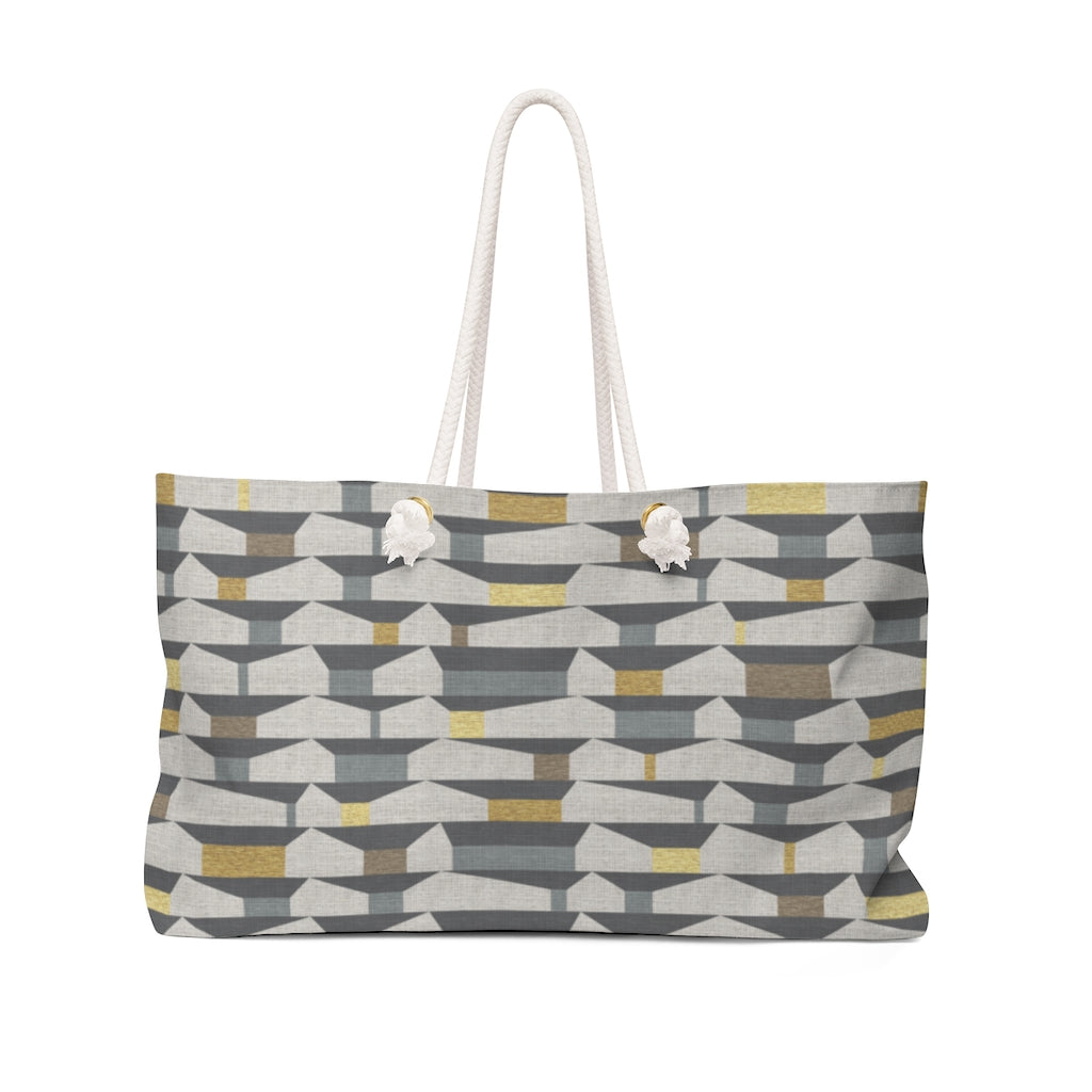 Tramway Weekender Bag in Gray