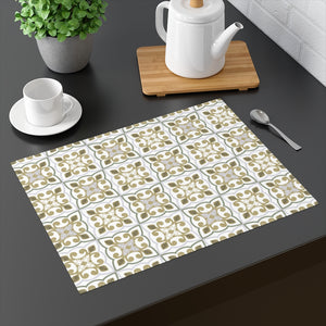 Azulejo Placemat in Green