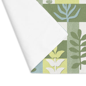 Botanical Paper Placemat in Green