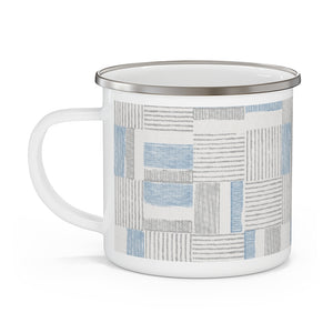 Block Pal Enamel Mug in Blue