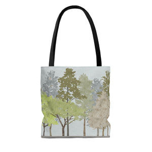 Walk in the Woods Tote Bag in Brown