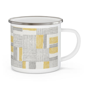 Block Pal Enamel Mug in Yellow