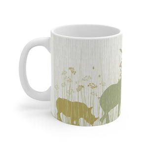 Safari Mug in Green