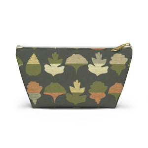 Frond Accessory Pouch w T-bottom in Green