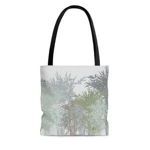 Lucky Bamboo Tote Bag in Gray