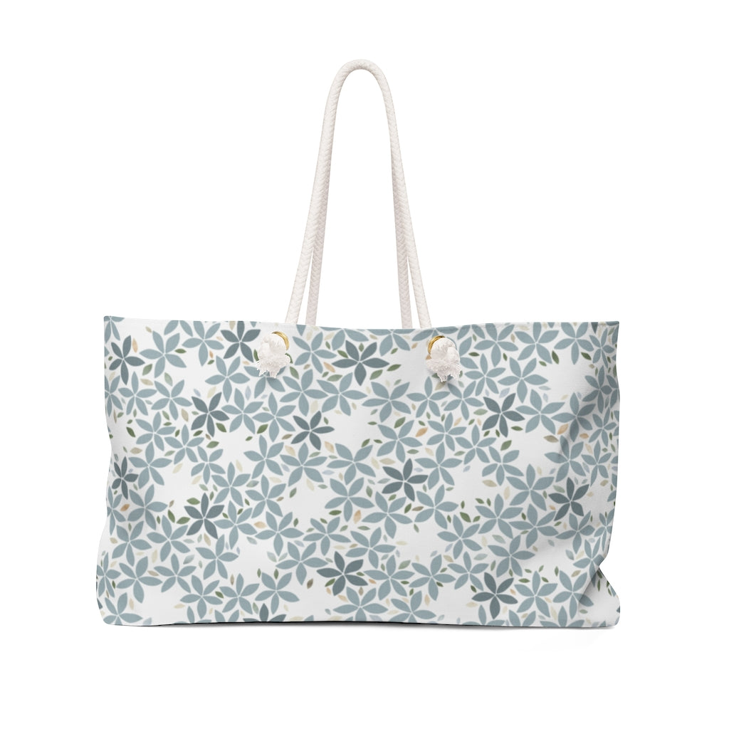Snowbell Weekender Bag in Aqua