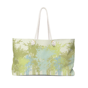 Lucky Bamboo Weekender Bag in Green