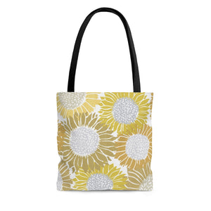 Sunflowers Tote Bag in Yellow