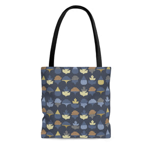 Frond Tote Bag in Indigo