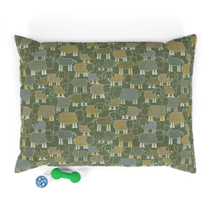 Animal Farm Pet Bed in Green
