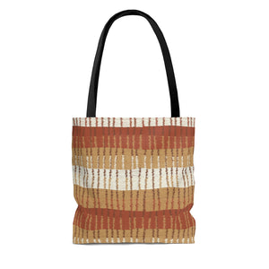 Bryce Canyon Tote Bag in Orange