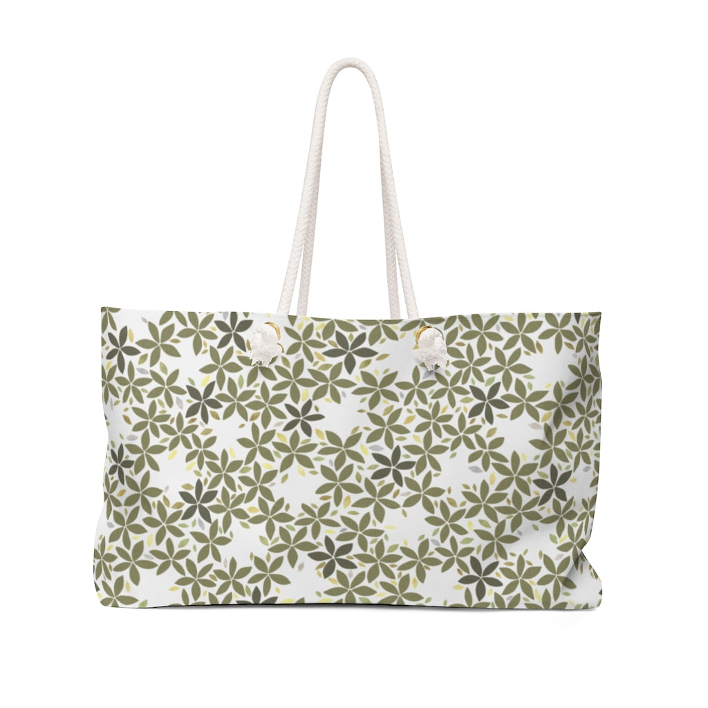 Snowbell Weekender Bag in Green