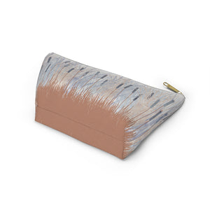 Marsh Accessory Pouch w T-bottom in Coral