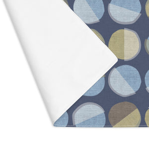 Ping Pong Placemat in Blue