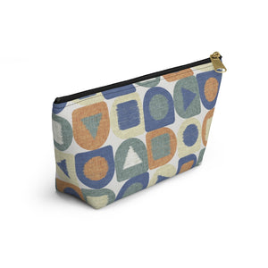 Shape Up Accessory Pouch w T-bottom in Multi