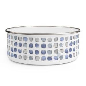Make a Splash Enamel Bowl in Blue