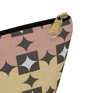 World's Fair Accessory Pouch w T-bottom in Pink