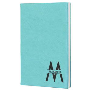 "5 1/4"" x 8 1/4"" Laserable Leatherette Journal"
