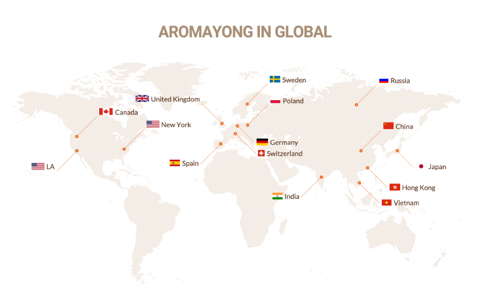 aroma yong in global