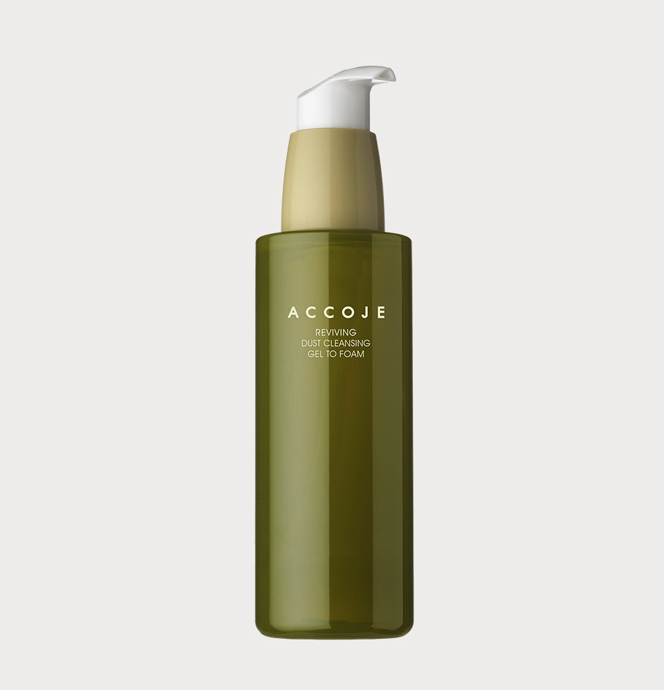 Reviving Dust Cleansing Gel to Foam (180ml)