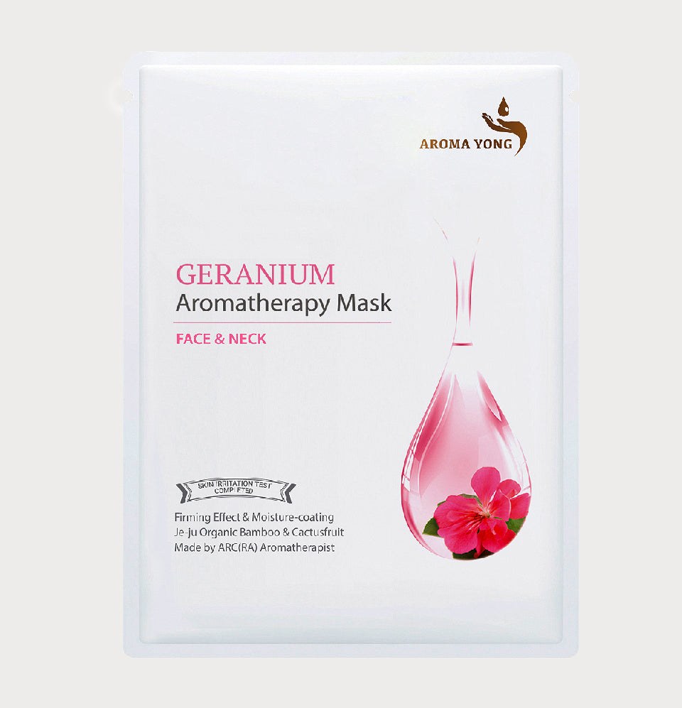 Geranium Aromatherapy Mask - Pack of 3